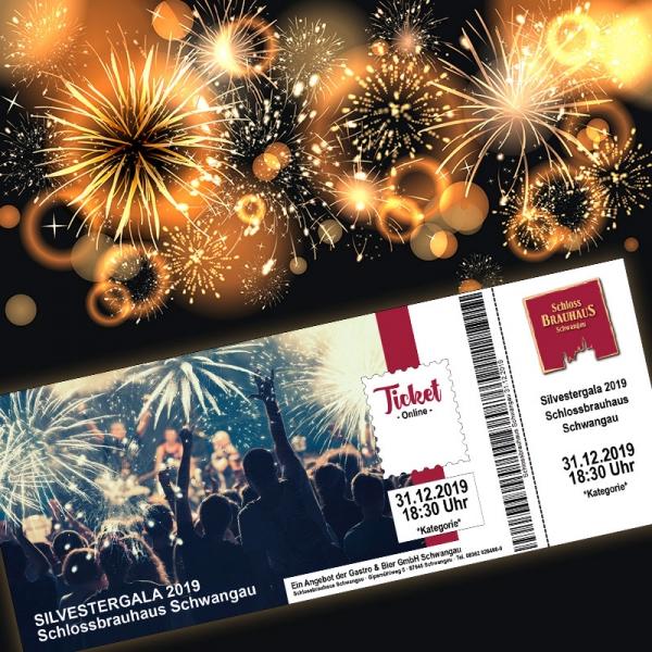 Ticket Silvestergala 2019 Online